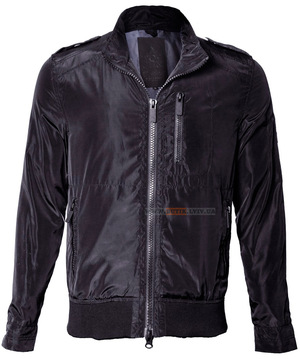 Фото: Вітровка Top Gun Nylon Bomber Jacket (чорна)